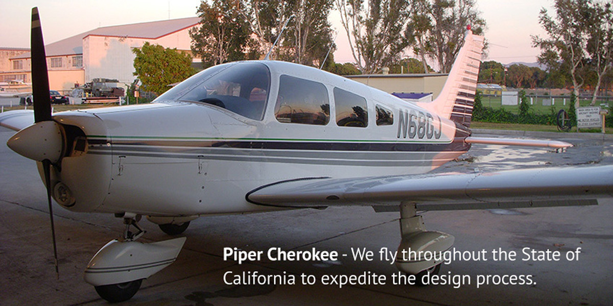 Residential designers that fly planes california