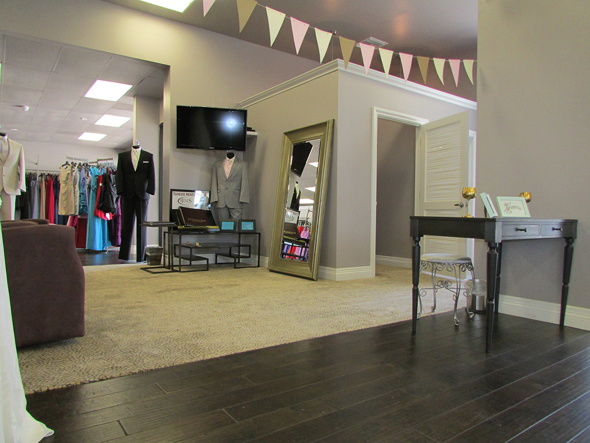 remodels of the bridal store in camarillo, CA