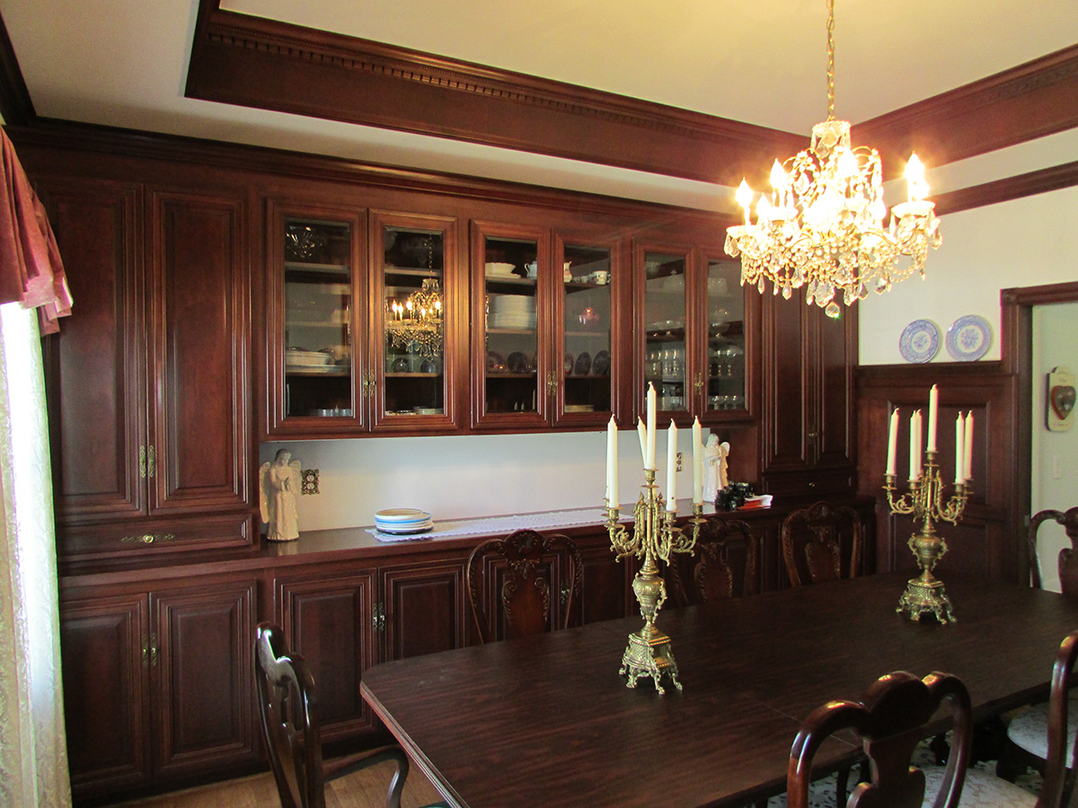 Dining room of Camarillo home