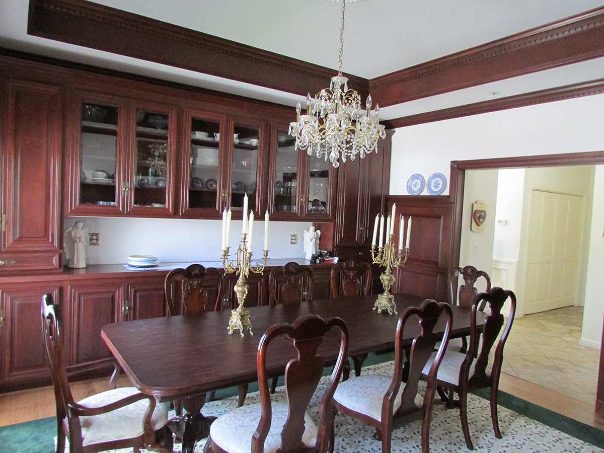 Dining room of Camarillo home view 3