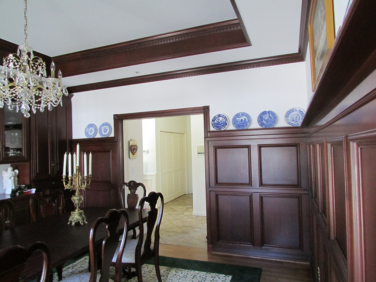 Dining room of Camarillo home view 4